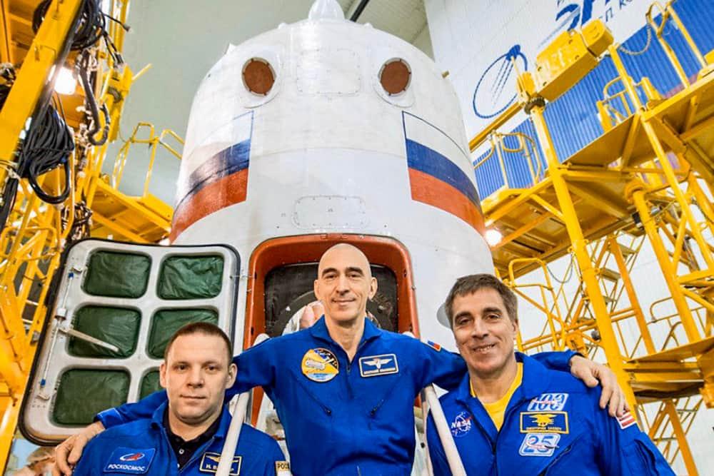 La tripulación de la nave – Roscosmos