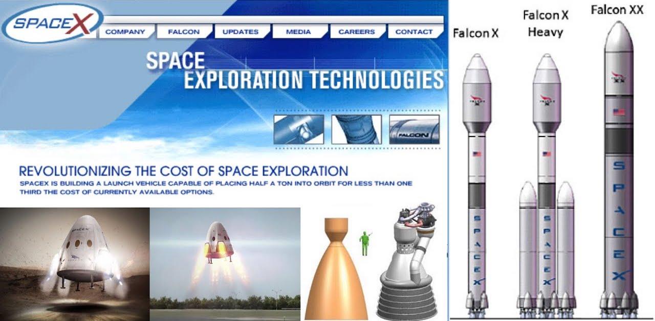 Más proyectos abandonados de SpaceX – Scott Manley