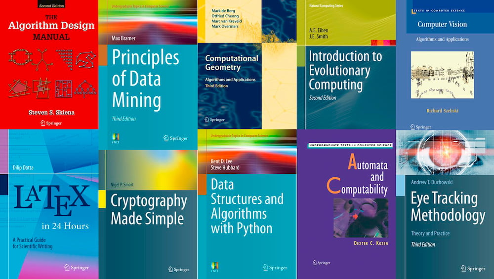 A collection of free books from Springer