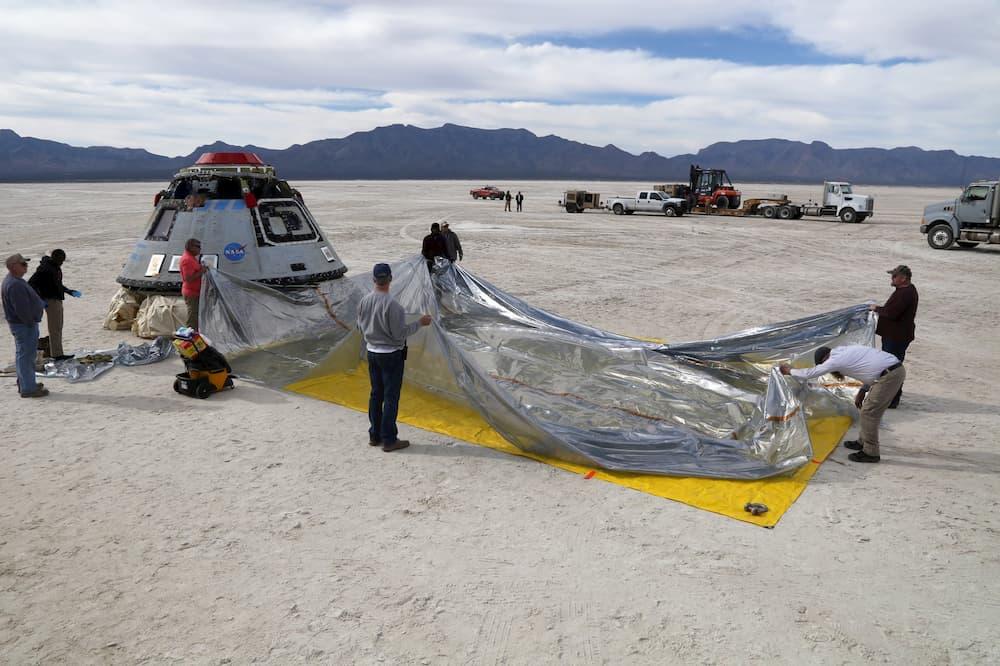 Preparando la Calypso para el viaje - NASA