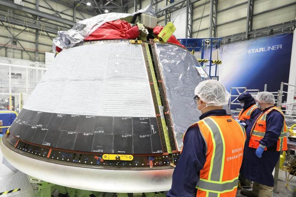 La cápsula que llevará a cabo la misión – Boeing/NASA