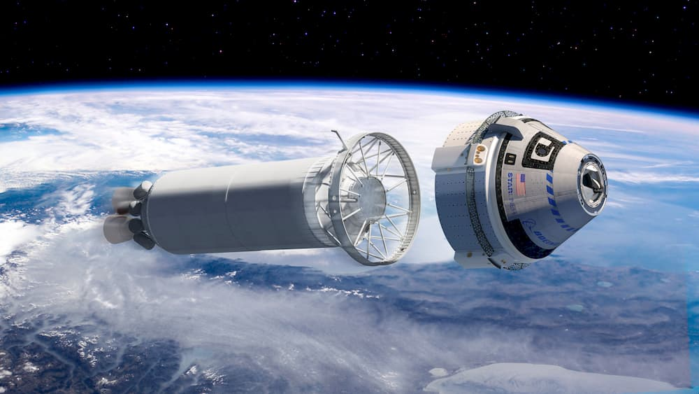La Starliner separándose de la segunda etapa del Atlas V - Boeing