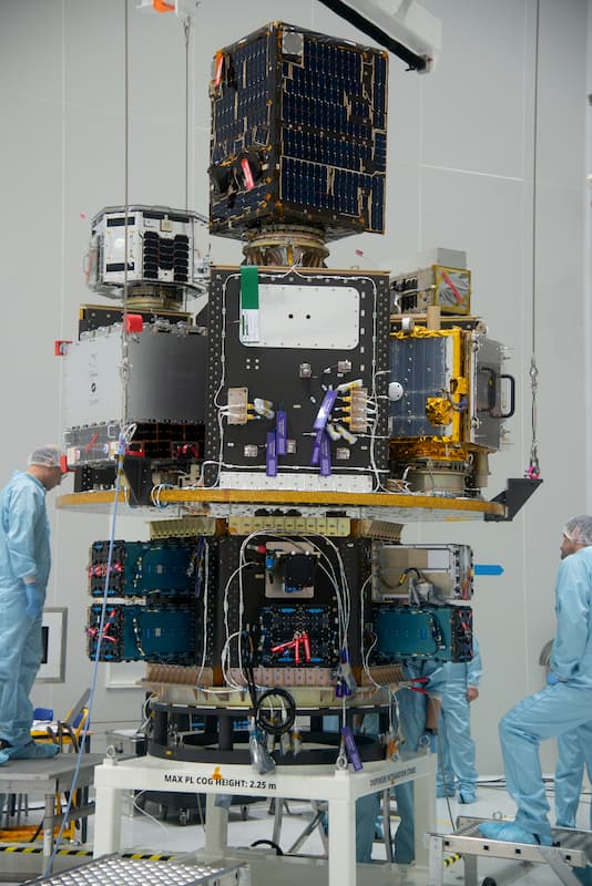 El SSMS del vuelo Vega V16 – Arianespace