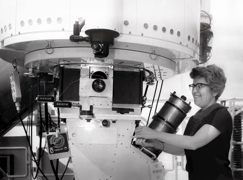 El vera Rubin al atardecer - LSST Project/NSF/AURA