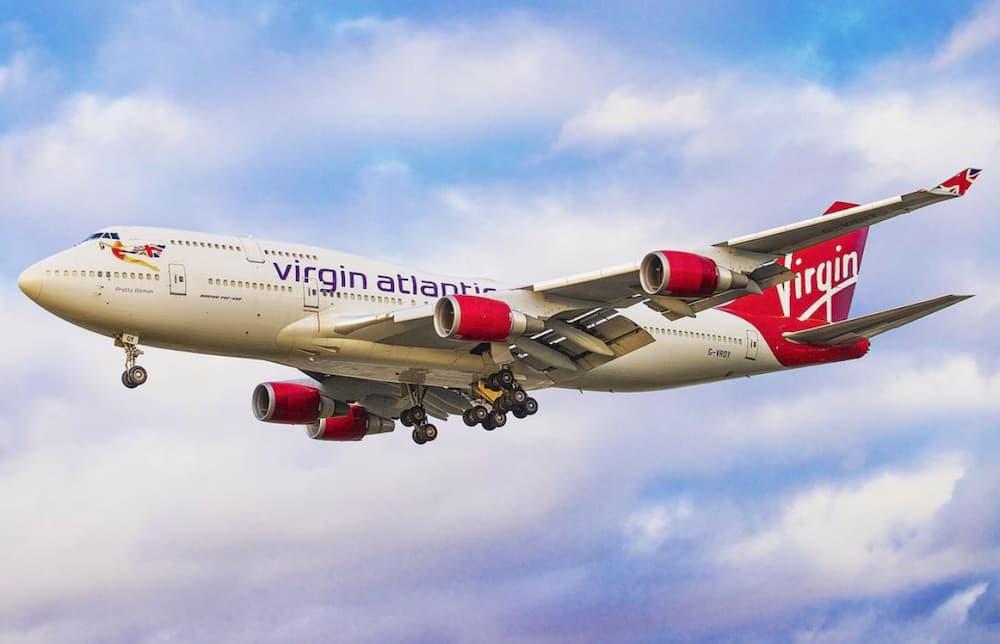 El Pretty Woman en vuelo – Virgin Atlantic