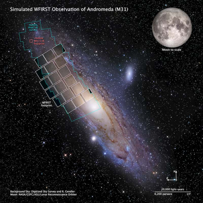 WFIRST vs Hubble