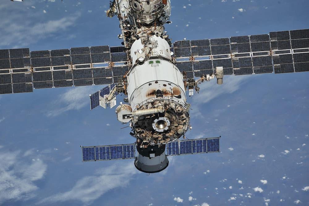 Zvezda fotografiado desde una Soyuz - NASA