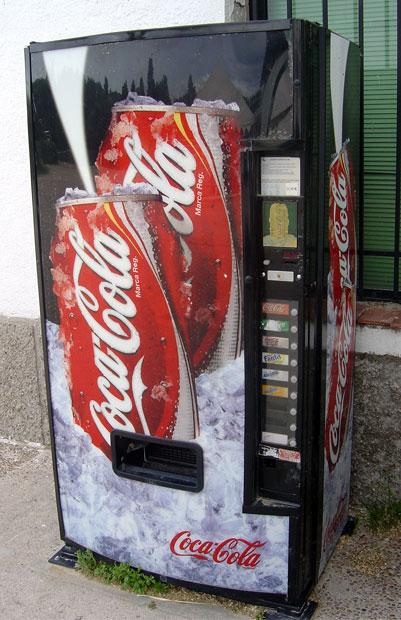 Máquina de Coca-Colas (CC) Alvy