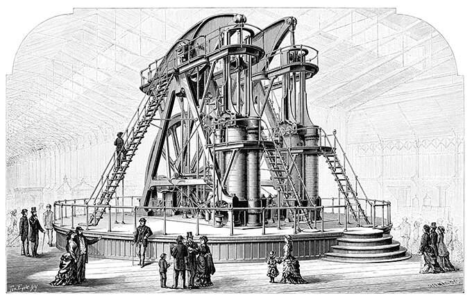 Máquina de vapor Corliss