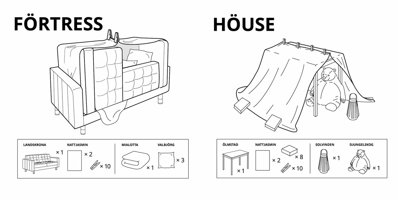 IKEA Rusia / Home Forts