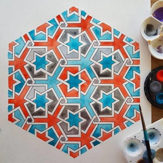 Samira Mian | Islamic Geometry | England