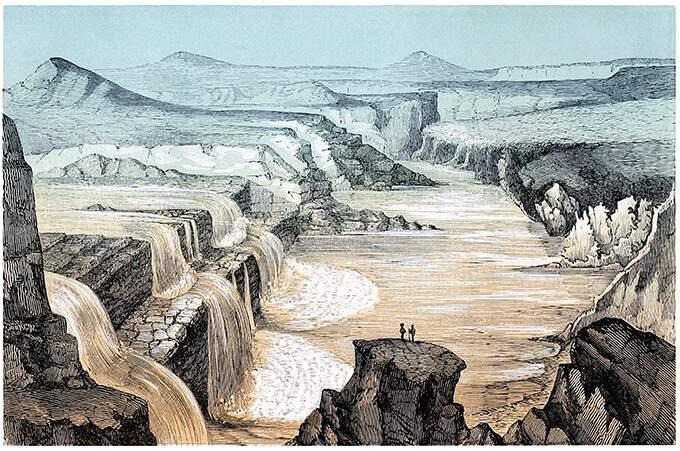 Cataratas del Río Pequeño Colorado