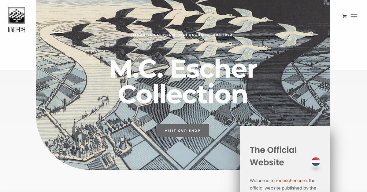 M.C. Escher Official Site
