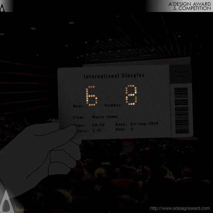 Shiny Movie Tickets / Li Peitong