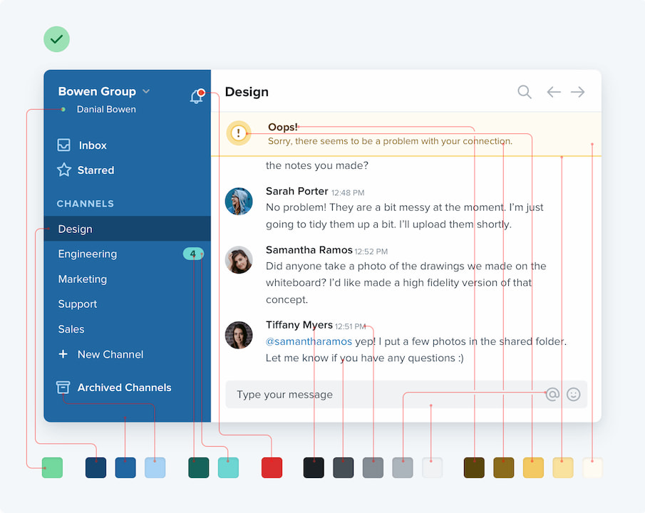 Define Your Shades / Refactoring UI