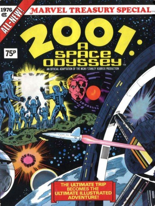 2001, una odisea del espacio / el comic / Marvel / Jack Kirby