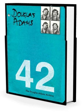 Portada de 42: the wildly improbable ideas of Douglas Adams