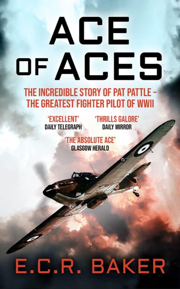 Portada de Ace of Aces por E. C. R. Baker
