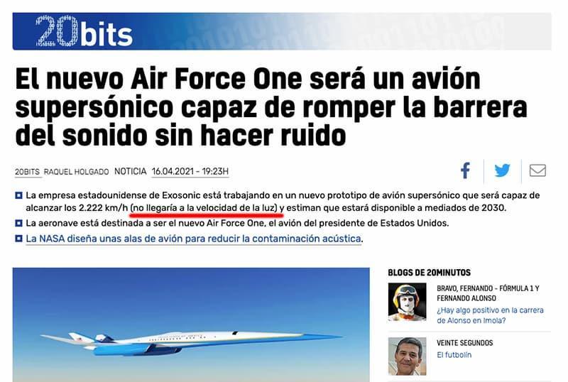 El nuevo Air Force One