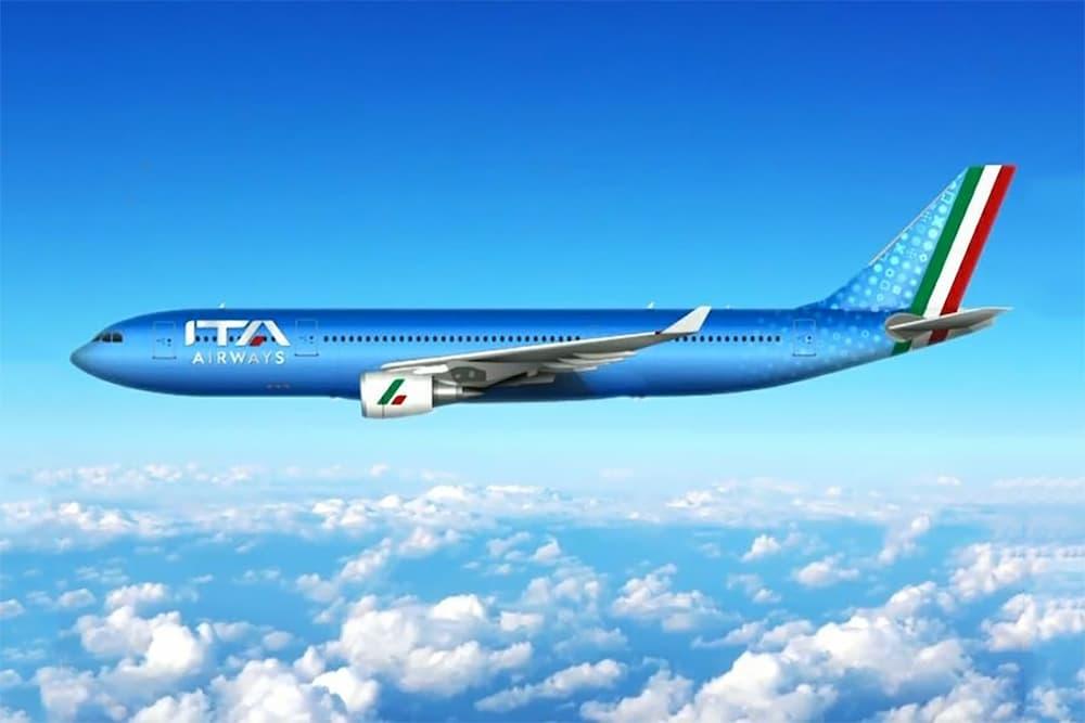 Impresión artística de un Airbus A330 con la librea de ITA Airways – ITA Airways