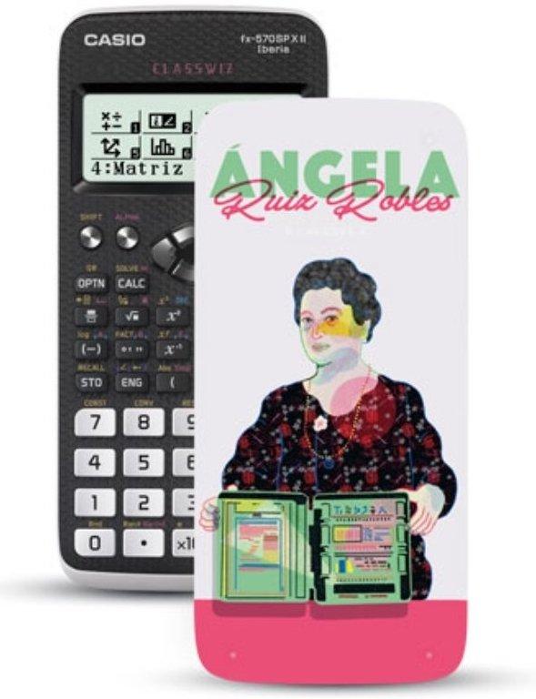La calculadora de Ángela Ruiz Robles