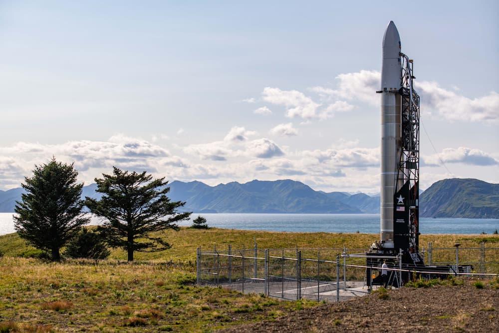 Rocket 3.3 en la plataforma de lanzamiento – Astra