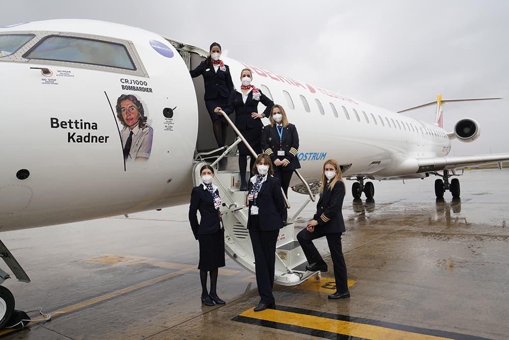 El «Bettina Kadner» antes de su primer vuelo – Air Nostrum