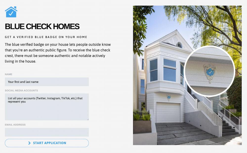 Blue Check Homes