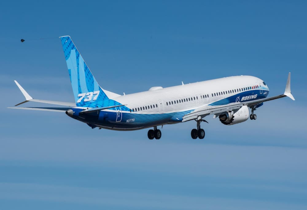 El primer 737 MAX 10 yéndose al aire por primera vez – Boeing