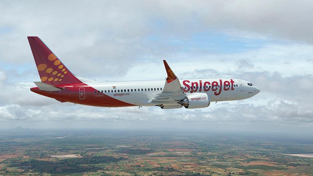 Un 737 MAx 8 de SpiceJet en vuelo – Boeing