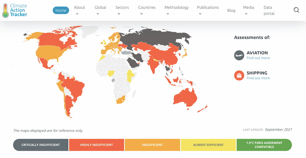 Climate Action Tracker / World