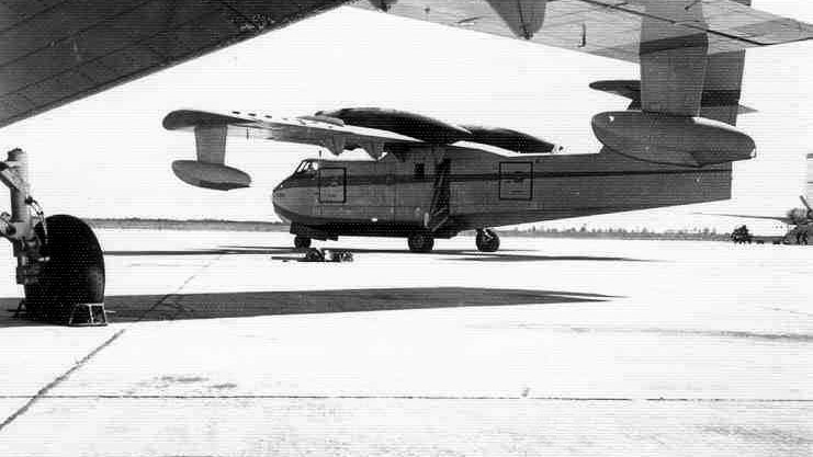 Un Canadair CL-215 del Ejército del Aire alrededor de 1971 – Ministerio para la Transición Ecológica y el Reto Demográfico