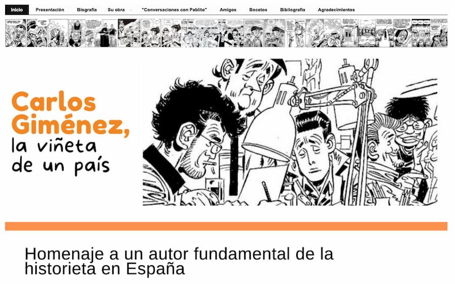 Carlos Giménez: la viñeta de un país - BiblioguiesUV at Universitat de València