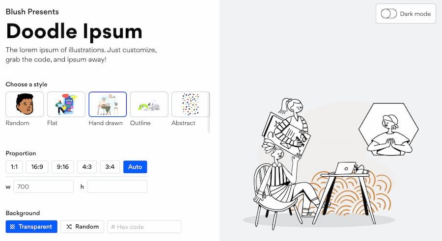 Doodle Ipsum