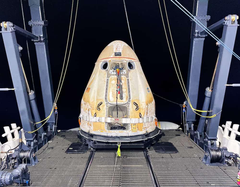 La Dragon 22 ya izada en el Go Navigator – NASA