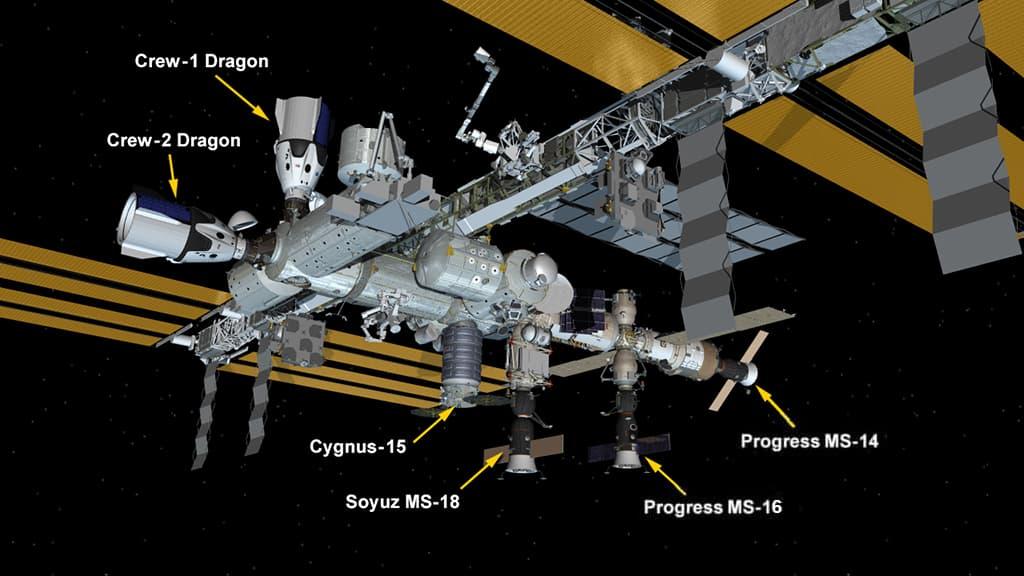 Configuración de la EEI el 24 de abril de 2021 – NASA