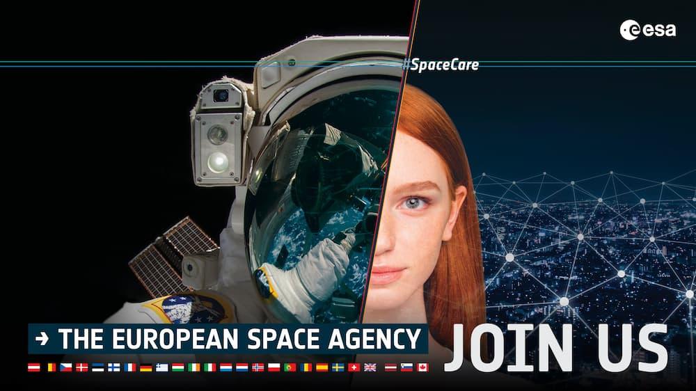 Imagen anunciadora del proceso de selección – ESA