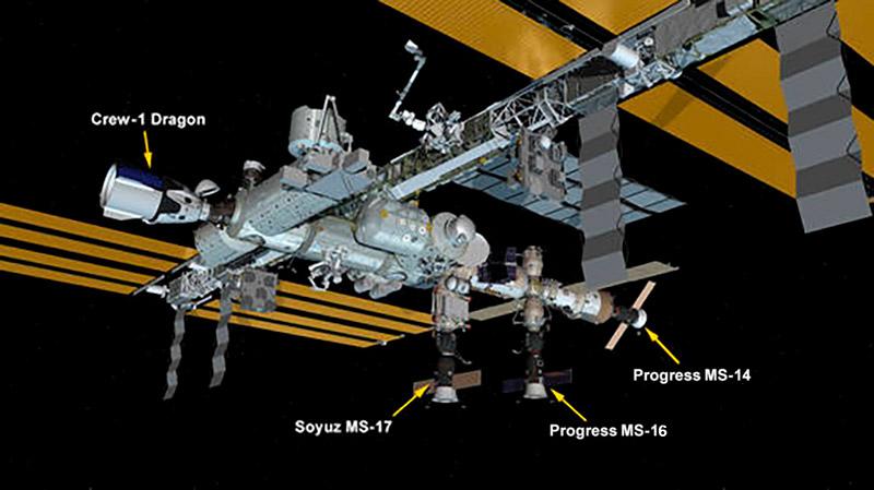 La EEI con la Progress MS-16 – NASA