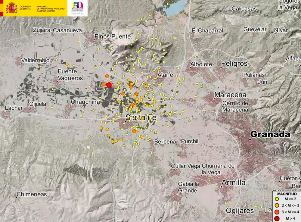 Terremotos en Granada / IGN