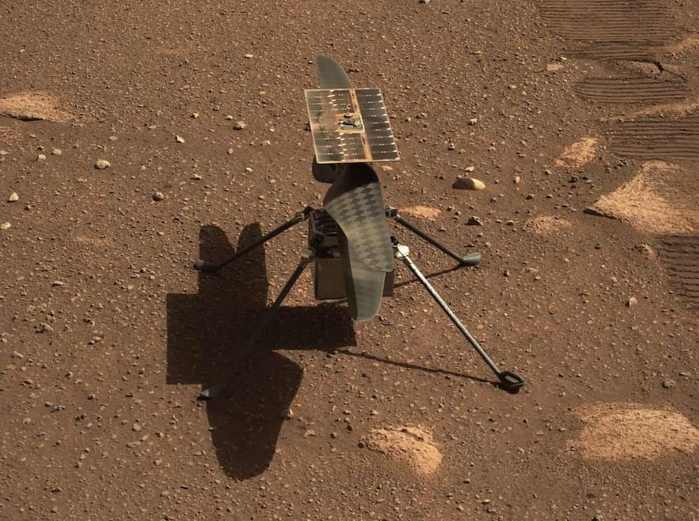 Ingenuity sobre el suelo de Marte – NASA/JPL-Caltech
