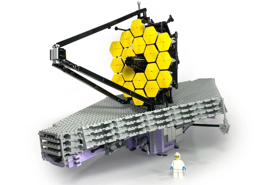 El JWST de Lego propuesto por tonysmyuncle