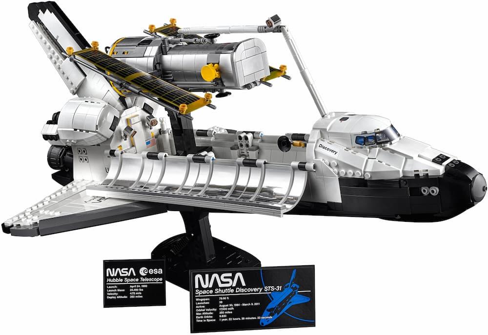 El Discovery y el Hubble – Lego