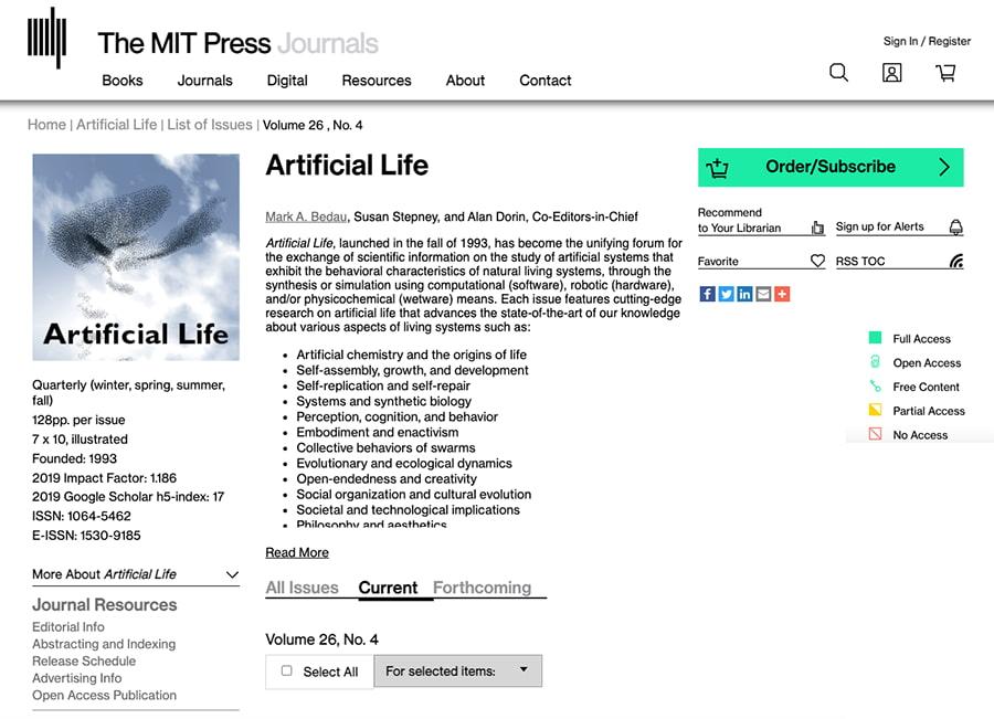 MIT Press abre el acceso público y gratuito a todas sus revistas académicas