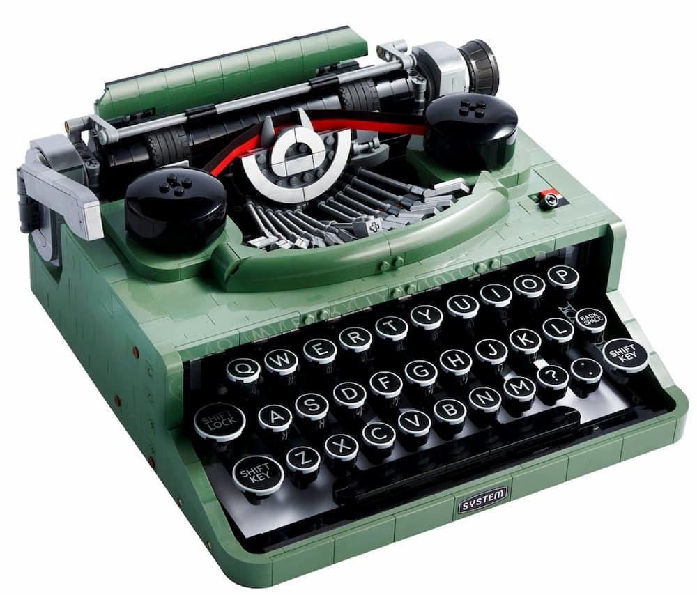 La máquina de escribir – Lego
