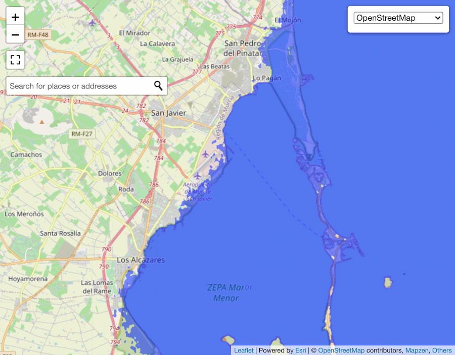 Mar Menor / FloodMap
