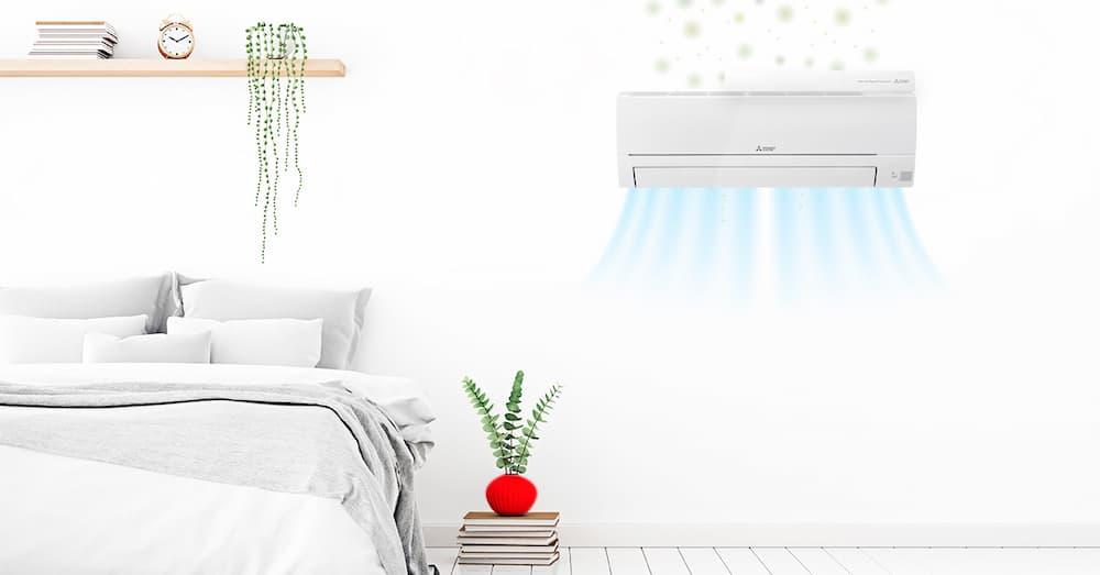 Mitsubishi Quad Connect en un dormitorio