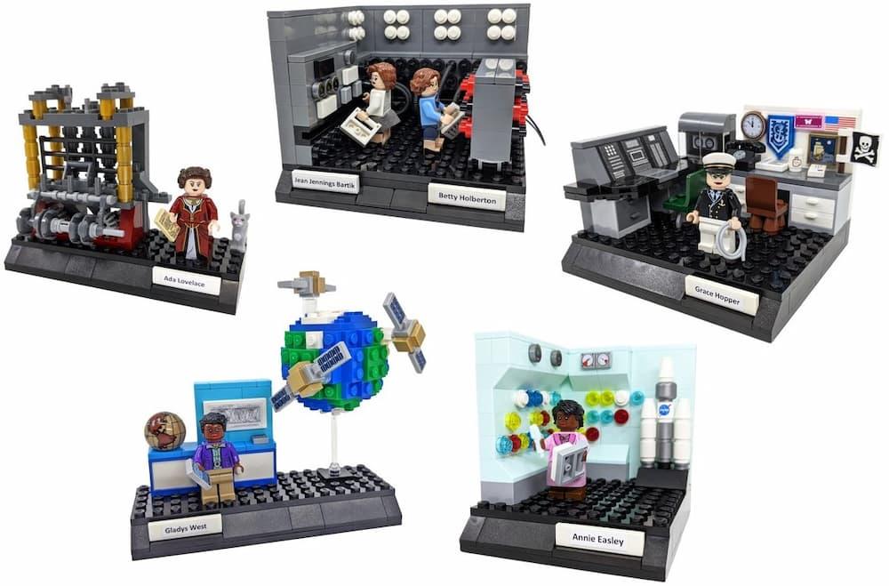 Las cinco viñetas propuestas en el set – 20tauri/Lego