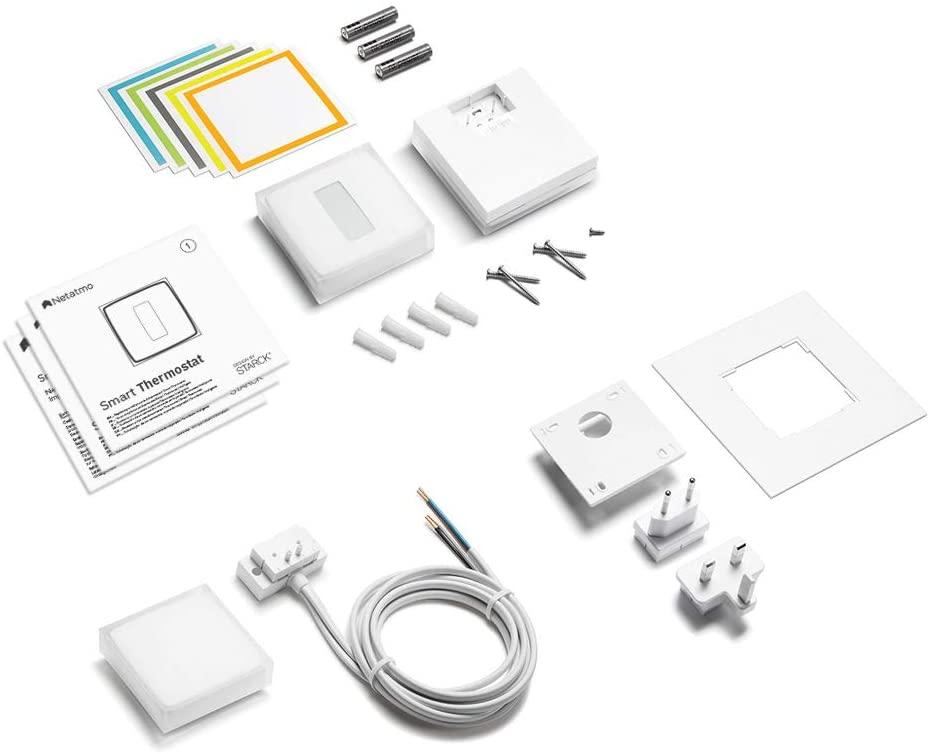 El kit del termostato Wifi – Netatmo