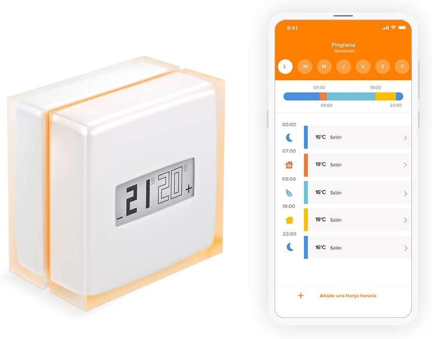 Termostato y app de Netatmo
