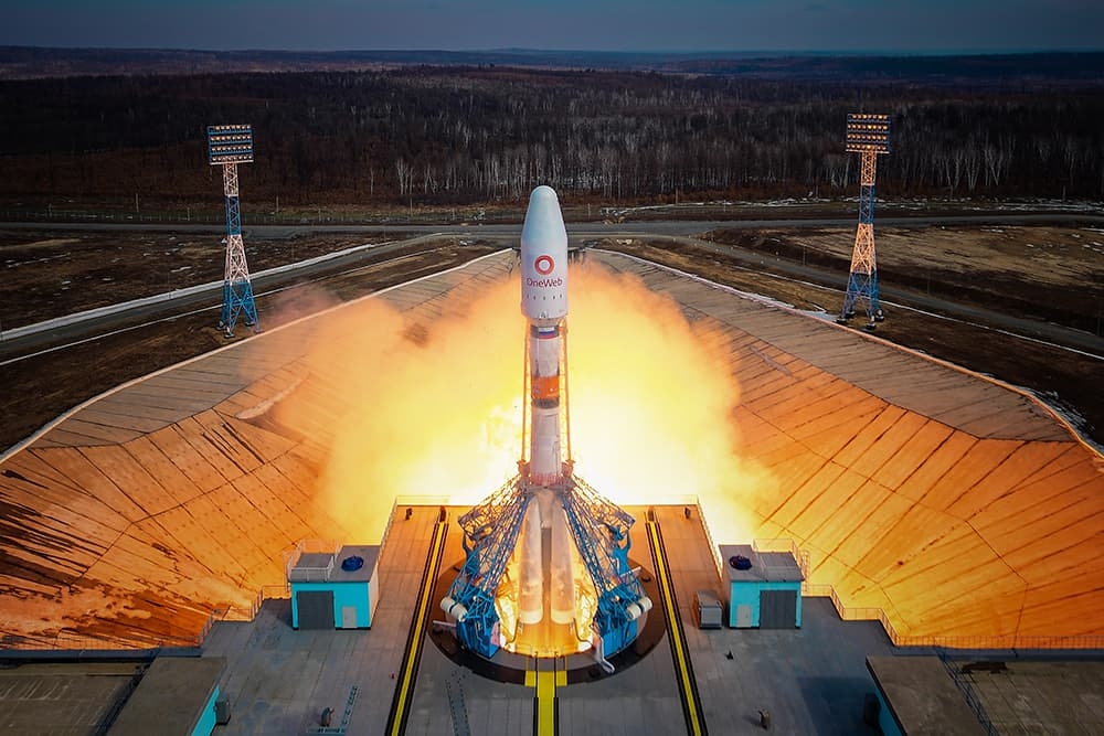 Despegue del cohete – OneWeb